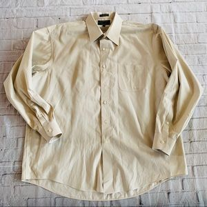 Alexander Julian Men's Dress Shirt Size XL